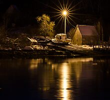 Pre-Dawn on the South Shore by Randy Hill