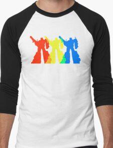Optimus Prime Colors Men's Baseball ¾ T-Shirt