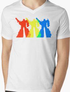 Optimus Prime Colors Mens V-Neck T-Shirt
