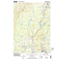 USGS TOPO Map New Hampshire NH Grantham 329582 1998 24000 Photographic Print
