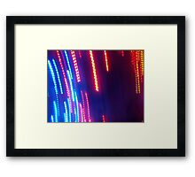 screen play Framed Print