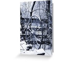 Farm Blizzard Greeting Card