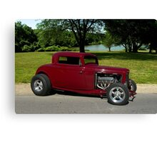 1932 Ford Coupe Hot Rod Canvas Print