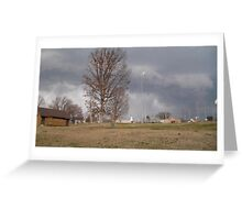 Storm Season 2013 Begins 7 Greeting Card