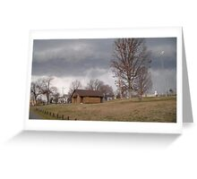 Storm Season 2013 Begins 8 Greeting Card