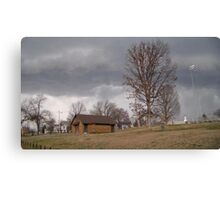 Storm Season 2013 Begins 10 Canvas Print