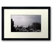 Storm Season 2013 Begins 12 Framed Print