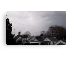 Storm Season 2013 Begins 12 Canvas Print