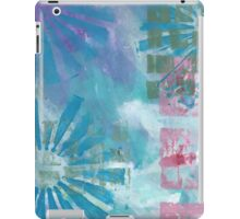 Be Blue iPad Case/Skin