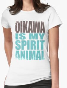 Oikawa is my Spirit Animal Womens Fitted T-Shirt