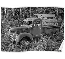 Maine Antique Truck Poster
