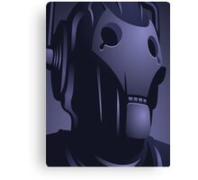 Cyberman from Doctor Who. Canvas Print