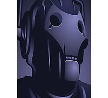 Cyberman from Doctor Who. Photographic Print