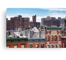 Lower East Side Roofscape - New York City Canvas Print