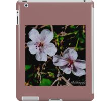 Wild Blossoms iPad Case/Skin