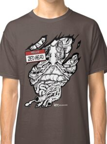 HELLO my name is ZED HEAD (dark colors) Classic T-Shirt