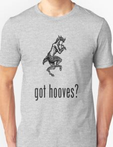got hooves? Black T-Shirt