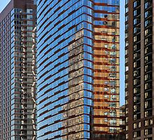 Lines, Colors, Reflections - New York City by Joel Raskin