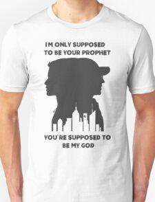 Mr Robot Quote - Your Prophet Your God T-Shirt