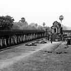 Sunrise at Angkor Wat by serialninja