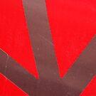Red X 4 by Joanne  Bradley