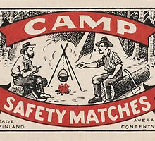 Camp by Match Box Labels