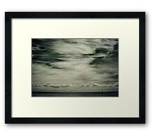 Half Moon Bay Framed Print