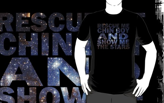 Rescue me chin boy and show me the stars by Brantoe
