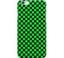 Checkerboard - Green iPhone Case/Skin