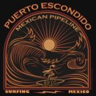 MEXICAN PIPELINE PUERTO ESCONDIDO by Larry Butterworth