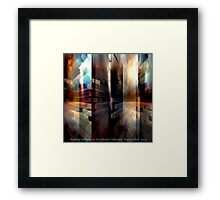 Reality Reflections Framed Print