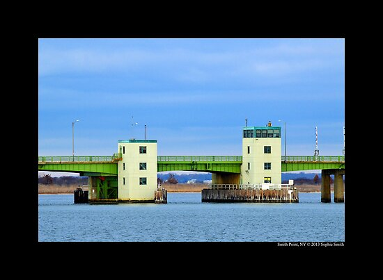 Country Route 46: William Floyd Parkway Bascule Bridge - Smith Point, New York by © Sophie W. Smith
