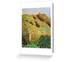 Cahuenga Peak, Warner Bros tower, David Olson Greeting Card