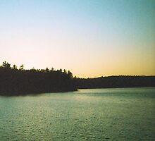Walden Pond, Sunset, November 2011 by jenjohnson1968