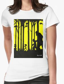 forest of the giants Womens Fitted T-Shirt