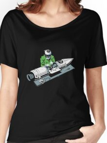 Rocket Surgeon funny nerd geek geeky Women's Relaxed Fit T-Shirt