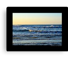 Atlantic Ocean In The Morning - Smith Point, New York Canvas Print