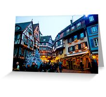 Christmastime in Alsace-Lorraine Greeting Card