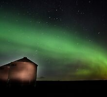 Northern Lights Saskatchewan Canada by pictureguy