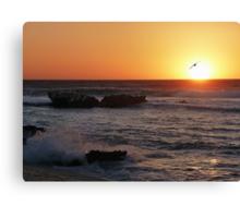 Trigg Beach at Sunset, Western Australia Canvas Print