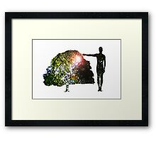 Eco Warrior (Male) Framed Print