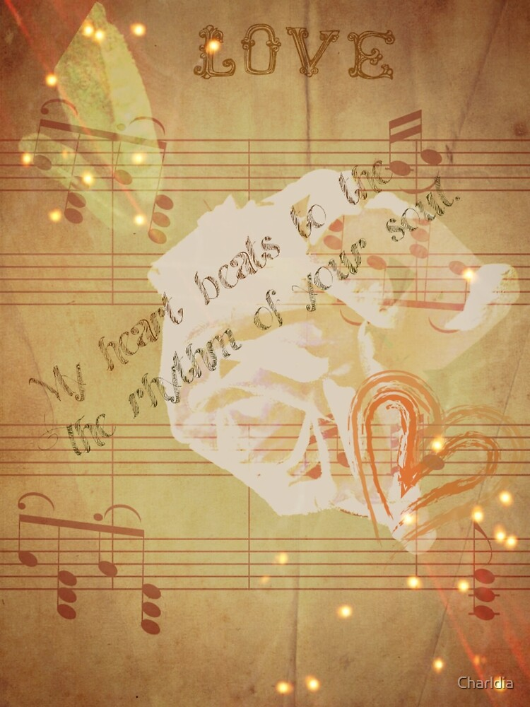 The Beat of My Heart, The Rhythm of Your Soul(Writing&Art) by Charldia