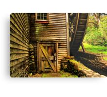 Door to the Old Mill Metal Print