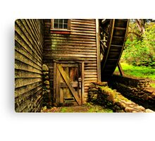 Door to the Old Mill Canvas Print