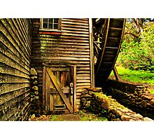 Door to the Old Mill Photographic Print