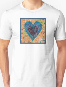 Heart by Heart Unisex T-Shirt