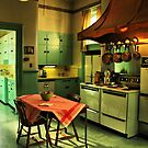 A Vintage Kitchen by Barbara  Brown