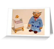 Professor Mulberry Greeting Card