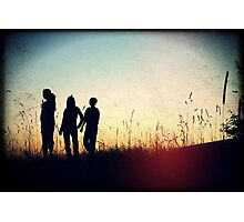 Three Friends Photographic Print