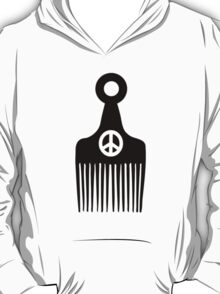 Afro Hair Peace T-Shirt